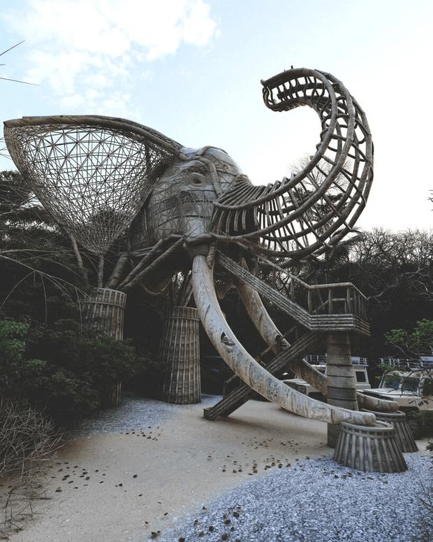 Фото №4 - Смотровая площадка в форме слона на Шри-Ланке
