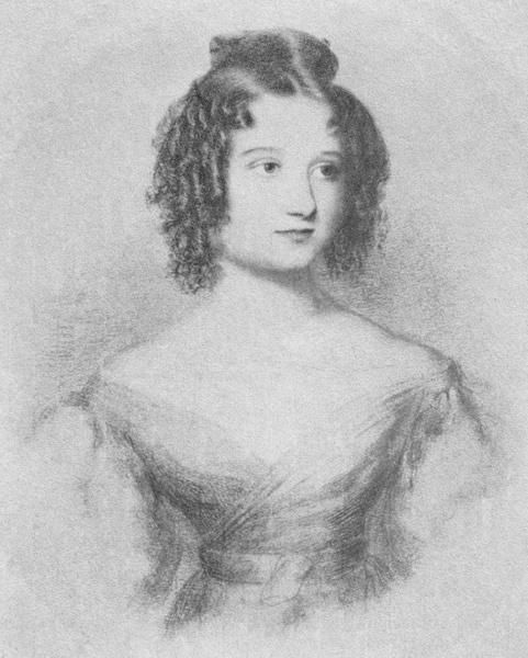 Ада Лавлейс в возрасте 17 лет
