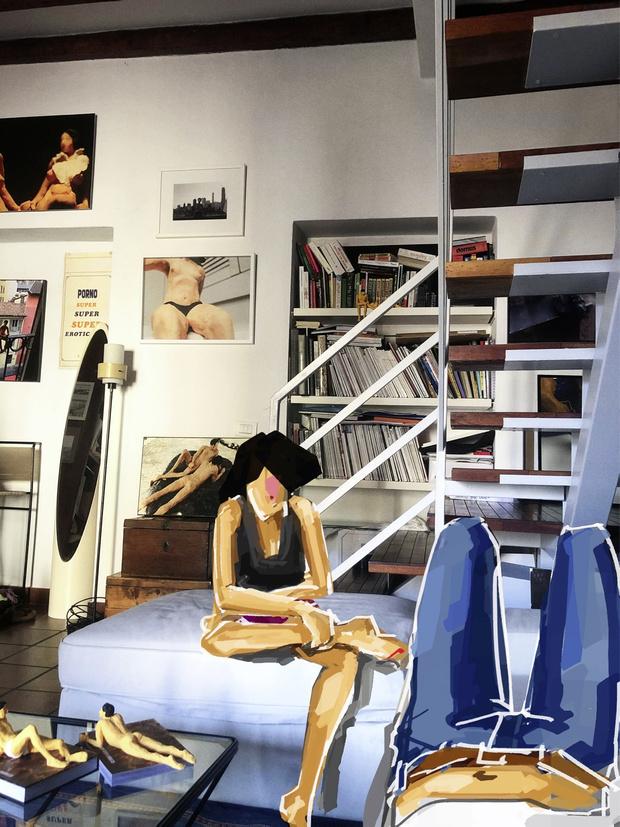 Фото №3 - ELLE DECORATION в гостях у Татьяны Бродач в Милане