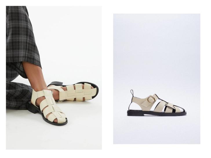 Фото №3 - Рыбацкие сандалии: с чем носить самую модную обувь лета