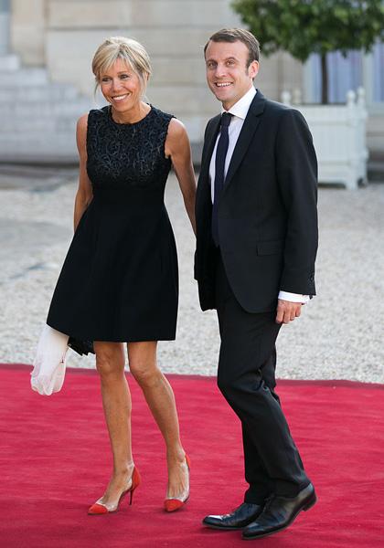 Эммануэль Макрон и Брижит Макрон: фото, в молодости, разница в возрасте, рост, вес