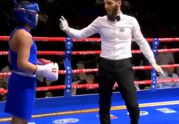 Фото №1 - Сын Кадырова выиграл турнир по боксу. Но есть один момент