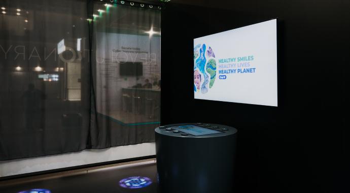 Oral-B принял участие в Международном мобильном конгрессе 2021