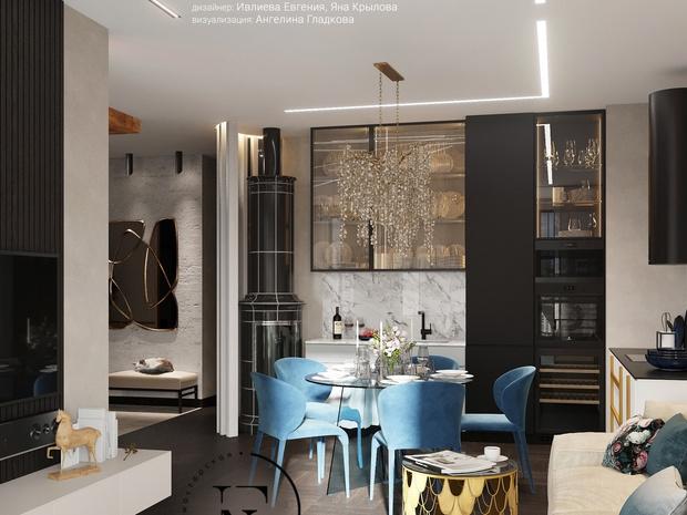 Фото №4 - Как обустроить кухню-гостиную: советы дизайнера