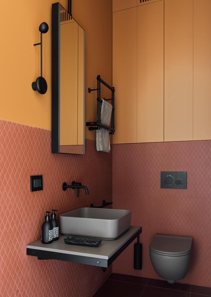 Фото №13 - Все краски осени: уютная московская квартира 70 м²