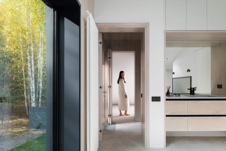 Фото №11 - Современная архитектура: деревянный дом 134 м² в Сибири