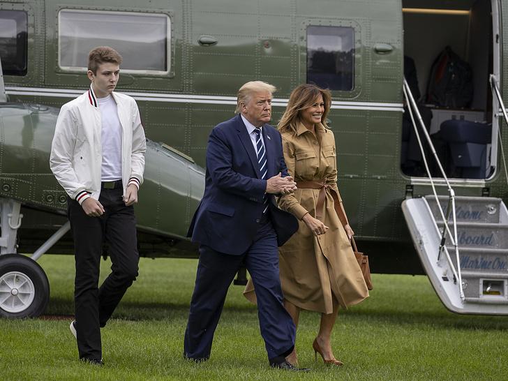 Фото №2 - Сын бывшего президента: что ждет Бэррона Трампа после Белого дома