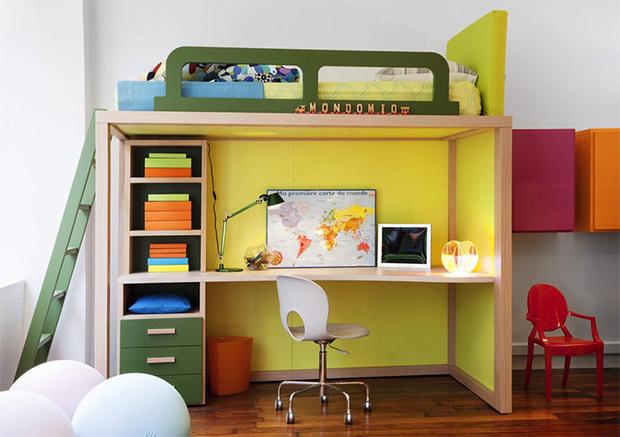 Фото №7 - Детская как конструктор: кровать-трансформер и модульная мебель