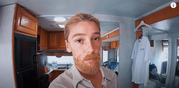 Фото №3 - Настя Ивлеева сыграет бородатого мужчину в новом фильме. У нас есть фотопруф!