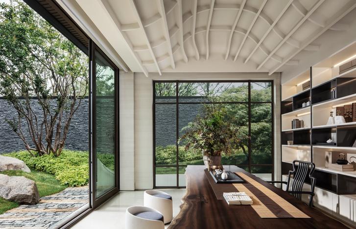 Фото №2 - Дом с панорамными окнами и садом в Сучжоу