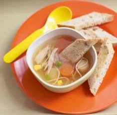 Как приготовить диетический куриный суп