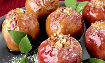 Яблоки запеченные с медом и миндалем