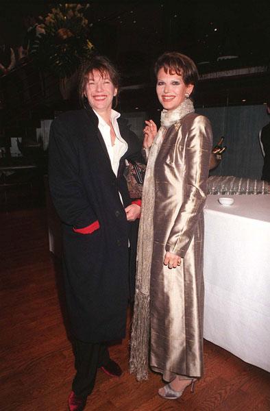 Джейн Биркин и Клаудия Кардинале, 1998 год