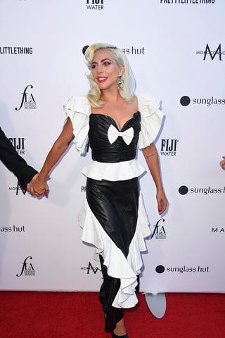 Леди Гага на на Fashion Los Angeles Awards