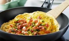 Как приготовить классический омлет на сковороде