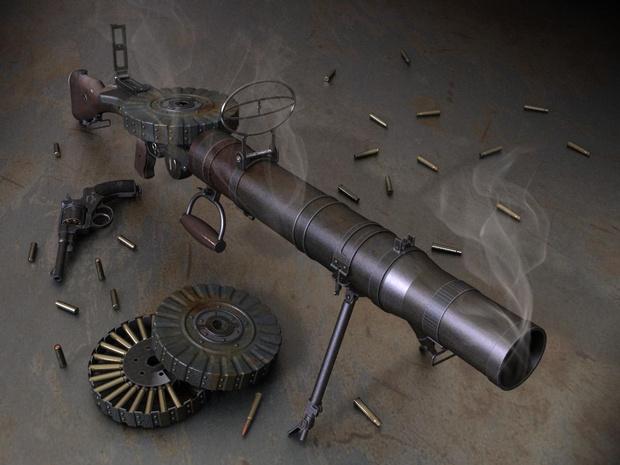 Фото №2 - Самый фотогеничный пулемет в истории кино