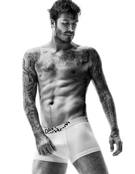 Дэвид Бекхэм в рекламной кампании H&M осень-зима-2014/15