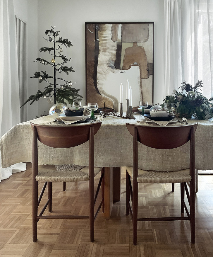 Фото №1 - Рождественская сервировка: три варианта от дизайнера