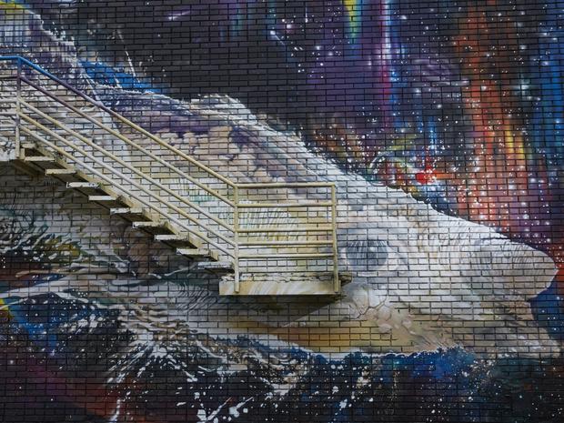 Фото №1 - Искусство под открытым небом: что нужно знать о мурале «Млечный путь» Александра Купаляна