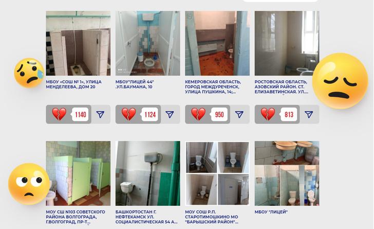 Фото №1 - Шутки и мемы про жуткие школьные туалеты России из конкурса Domestos
