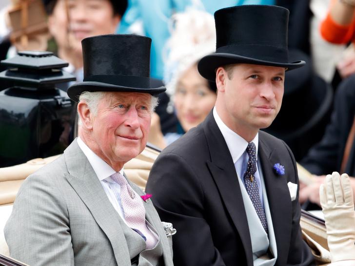 Фото №1 - Будущие наследник и король: как Уильям и Чарльз обсуждают свои грядущие роли