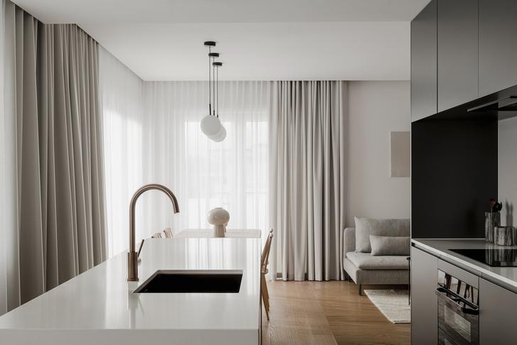 Фото №6 - Светлая квартира 65 м² в приморском городе в Польше