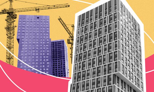 Фото №1 - ЖК «Парковый квартал»: три башни нестандартного вида в перспективной локации