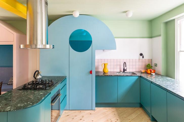 Фото №1 - Color Blocking: яркий дом в Лондоне
