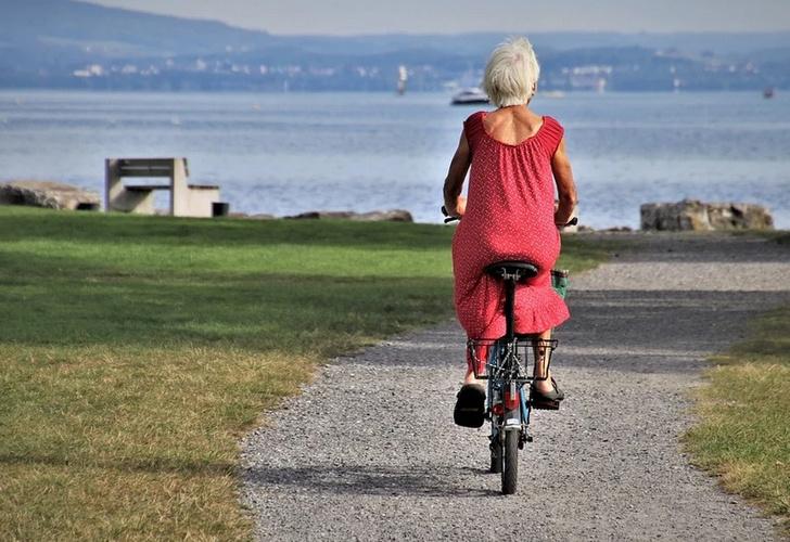 велосипед активная старость