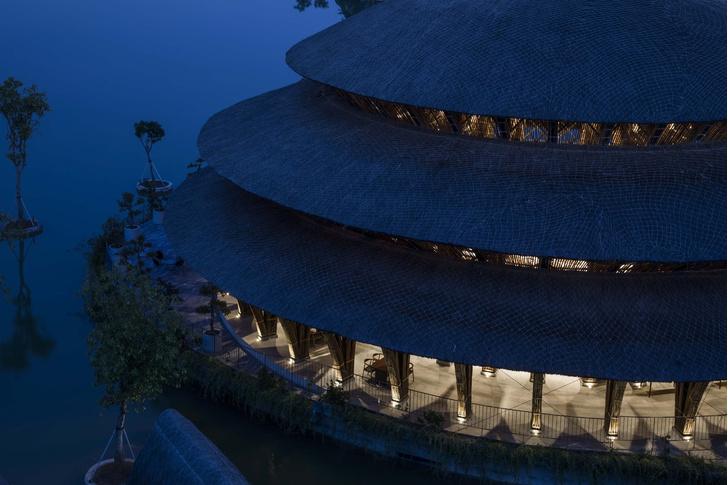 Фото №8 - Ресторан из бамбука во Вьетнаме