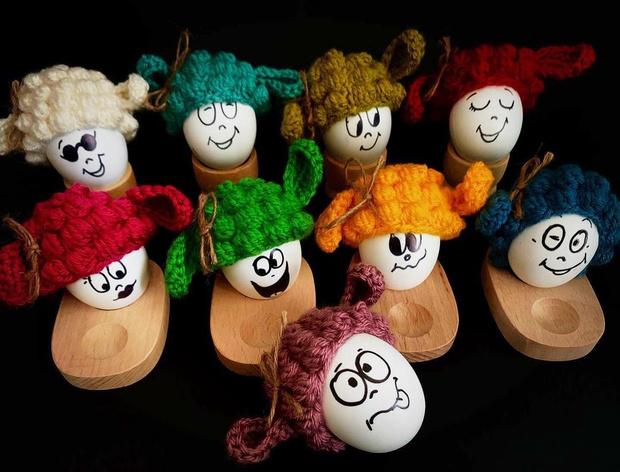 Фото №17 - Как прикольно покрасить яйца на Пасху: 15 креативных идей 🥚 🐇
