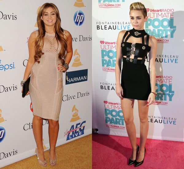 Как на самом деле похудела майли сайрус похудела до и после фото 2019
