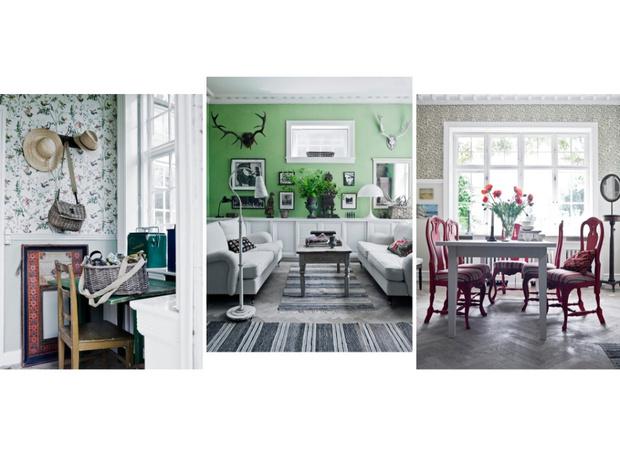 Фото №1 - Загородный дом под Копенгагеном: винтаж и яркие акценты
