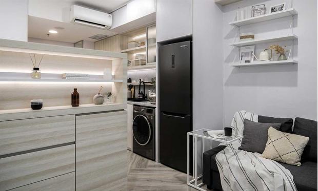 Фото №3 - Монохромная квартира 27 м² в Джакарте