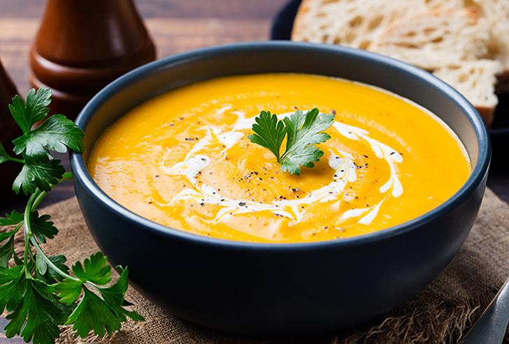 Фото №2 - Рецепты осени: тыквенный крем-суп