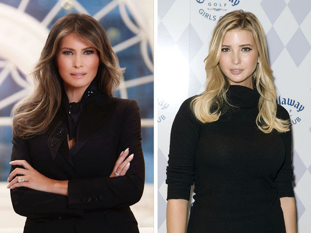 Фото №1 - Мелания или Иванка: кто самая богатая женщина семейства Трамп