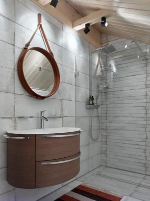 Фото №16 - Современный интерьер в деревянном доме в Подмосковье