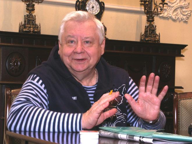 Олег Табаков ищет таланты в Воронеже