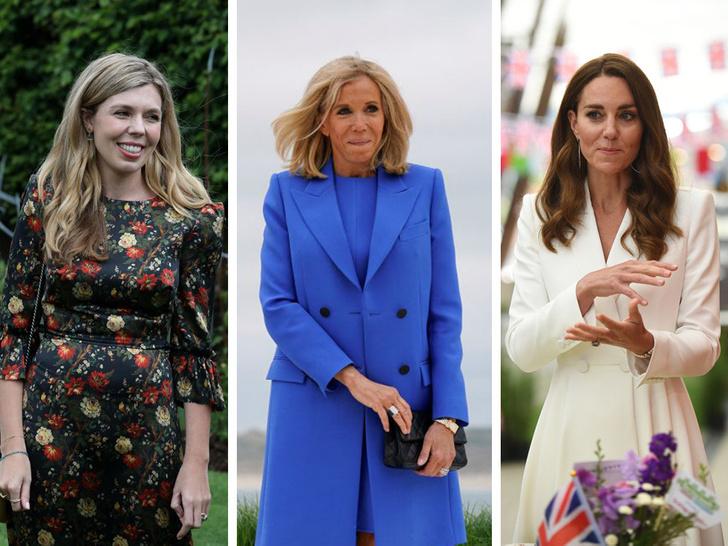 Фото №1 - Саммит G7 в Корнуолле: как выглядят Первые леди Европы и Японии