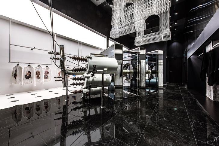 Фото №2 - Монохромный бутик ADLV в Сеуле