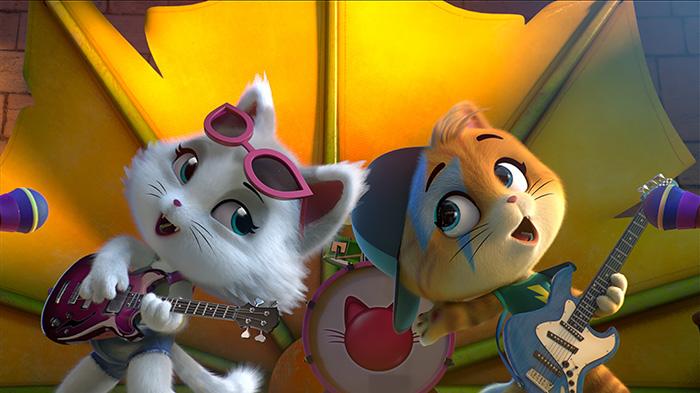 Фото №1 - Премьера мультфильма «44 котёнка» в сети «КАРО»
