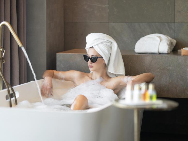 Фото №1 - Ученые: горячая ванна может заменить часовую пробежку