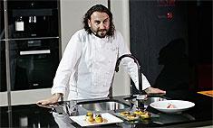 Салат из кускуса с маринованным тунцом от шеф-повара Мирко Дзаго