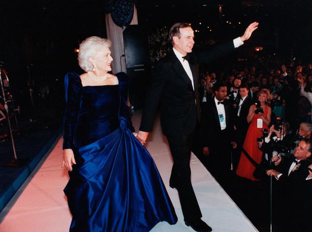 Фото №13 - Королевы Белого дома: самые роскошные инаугурационные платья Первых леди