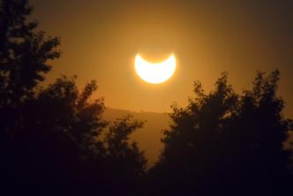 Фото №3 - Жители России наблюдали кольцеобразное затмение