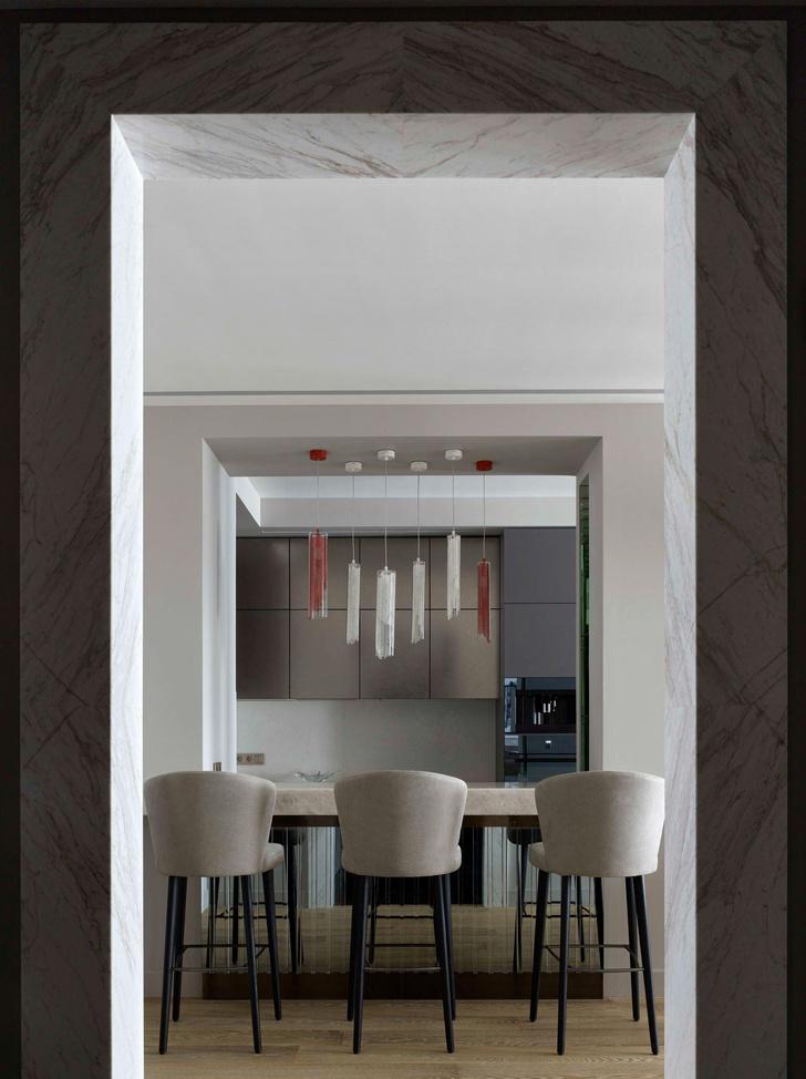 Фото №7 - Московская квартира по мотивам отеля Baccarat