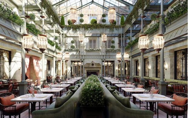 Фото №1 - Романтичный отель NoMad в Лондоне