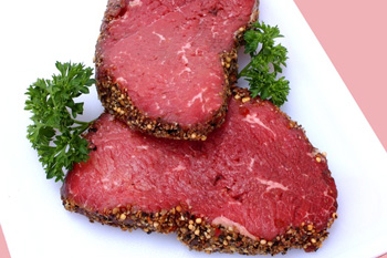 Мраморное мясо для стейка
