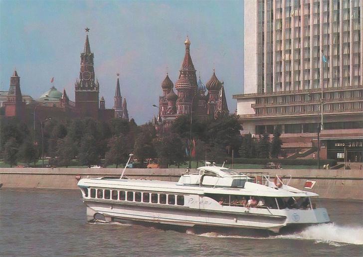 Фото №2 - История одной фотографии: откуда советское судно «Ракета» взялось в Лондоне в 1975 году?