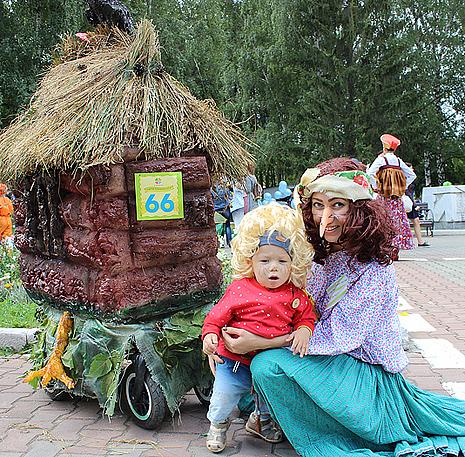 """""""Фестиваль колясок"""" в Екатеринбурге, фото"""